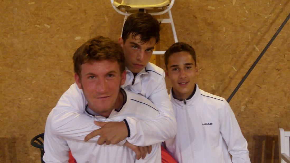 Момчетата до 16 г. се класираха за Junior Davis Cup