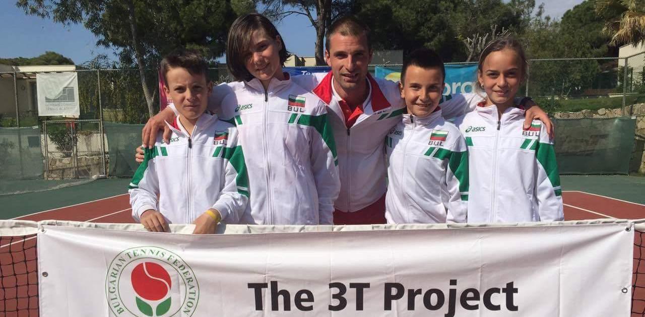 Треньорите Йордан Кънев и Крум Крумов: Програмата 3Т е за доброто на всички в тениса