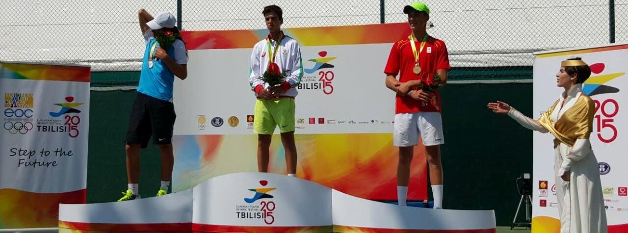 Адриан Андреев след златния медал в Грузия: Играх най-добрия си тенис срещу страхотен съперник