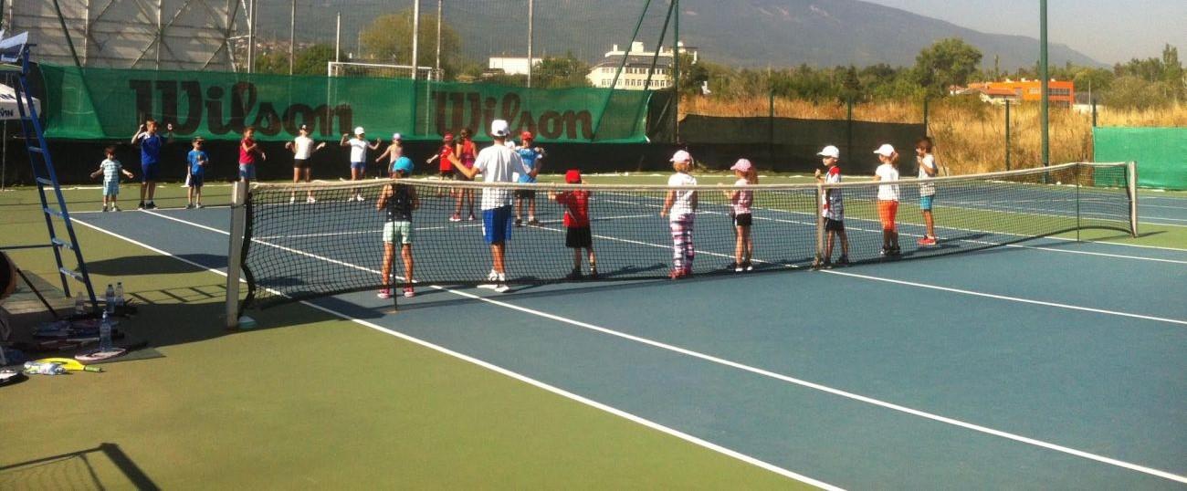 """""""Тенисът – спорт за всички"""" в …ТК Малинова долина"""