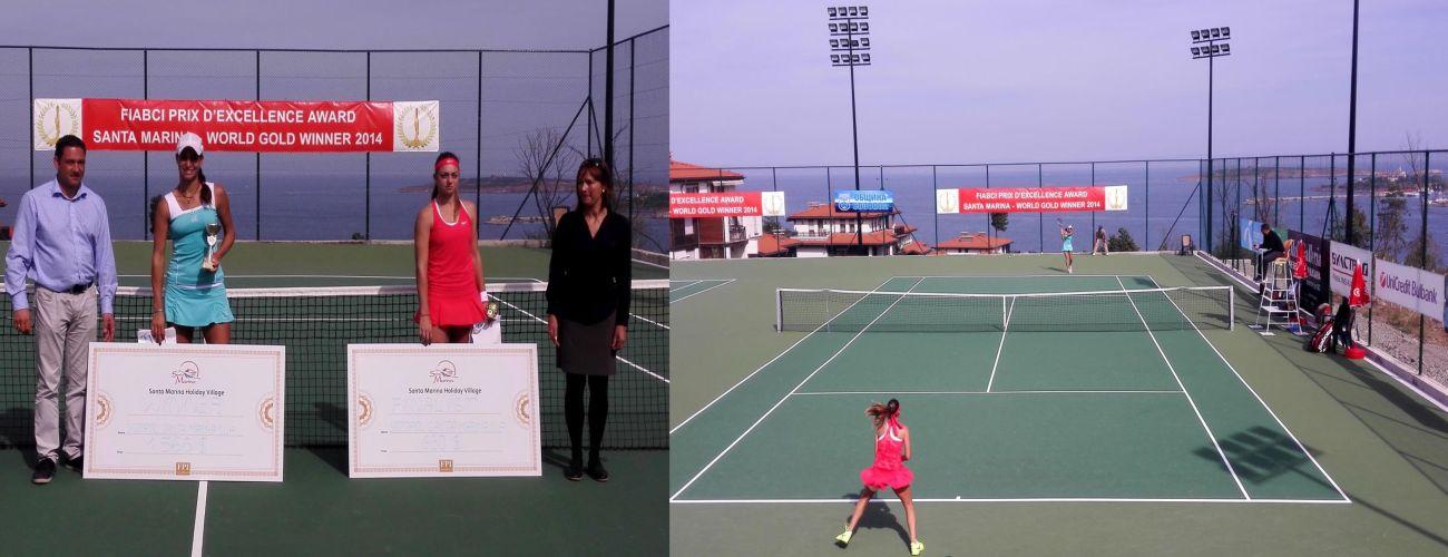 Изабелла Шиникова е първата шампионка на международен турнир в Санта Марина, Созопол