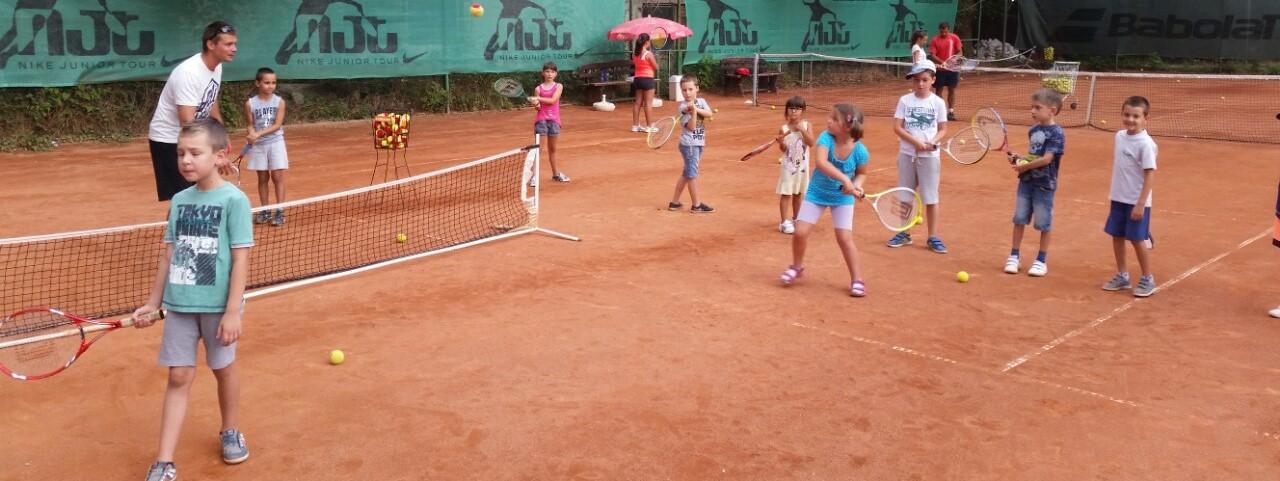 """""""Тенисът – спорт за всички"""" в …ТК Диана"""