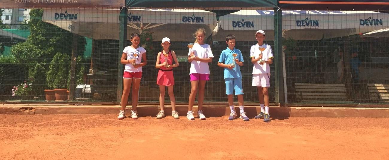 """ТК """"15-40"""" проведе турнир от Програмата """"Тенисът – спорт за всички"""""""