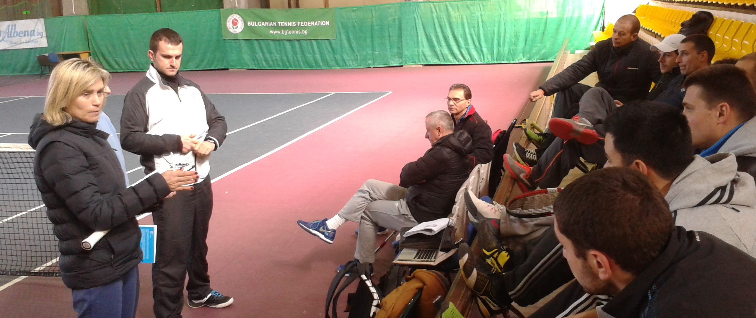 Завърши вторият модул от треньорския курс по новата методика на ITF