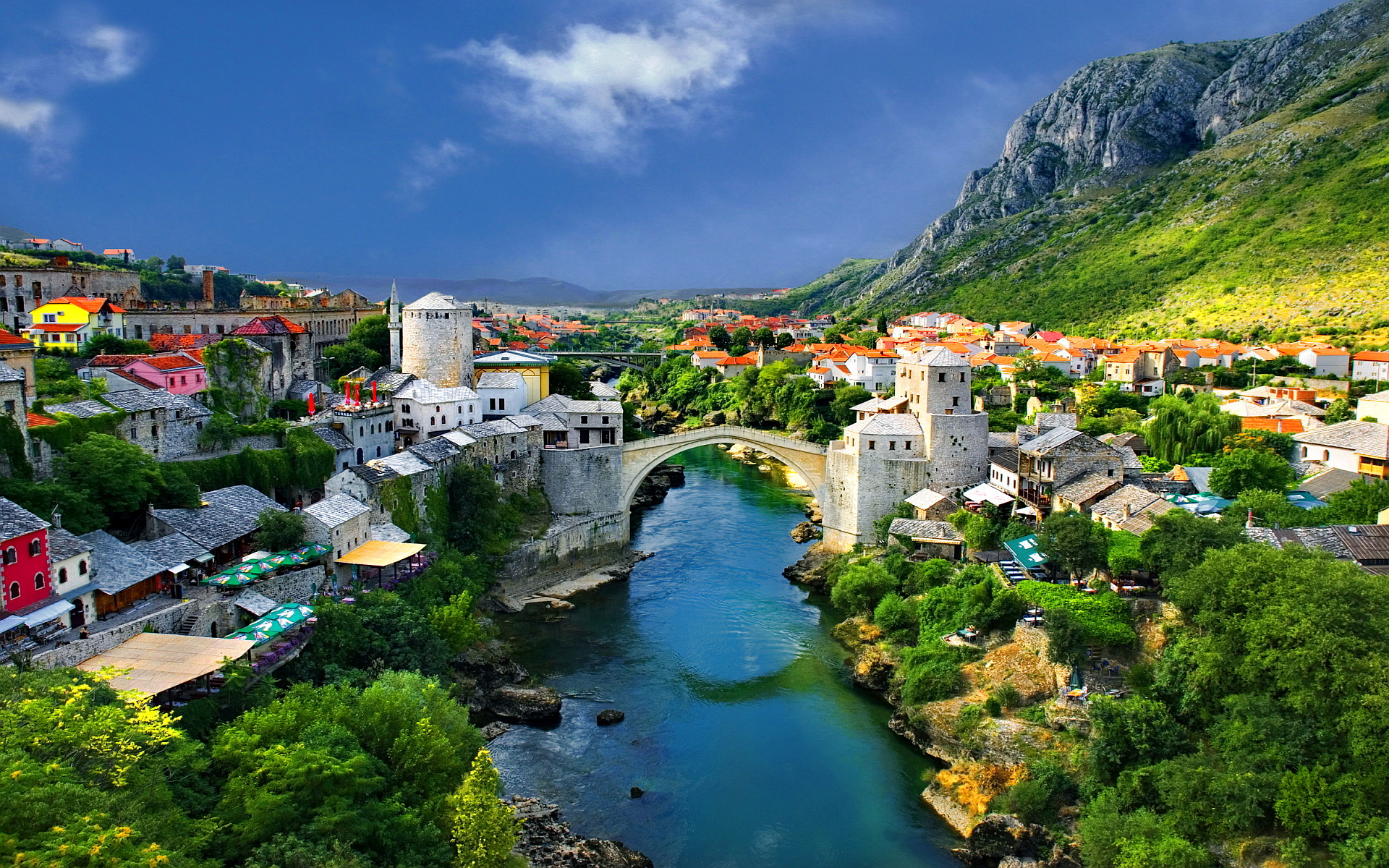 Mostar Herzegovina and Bosnia