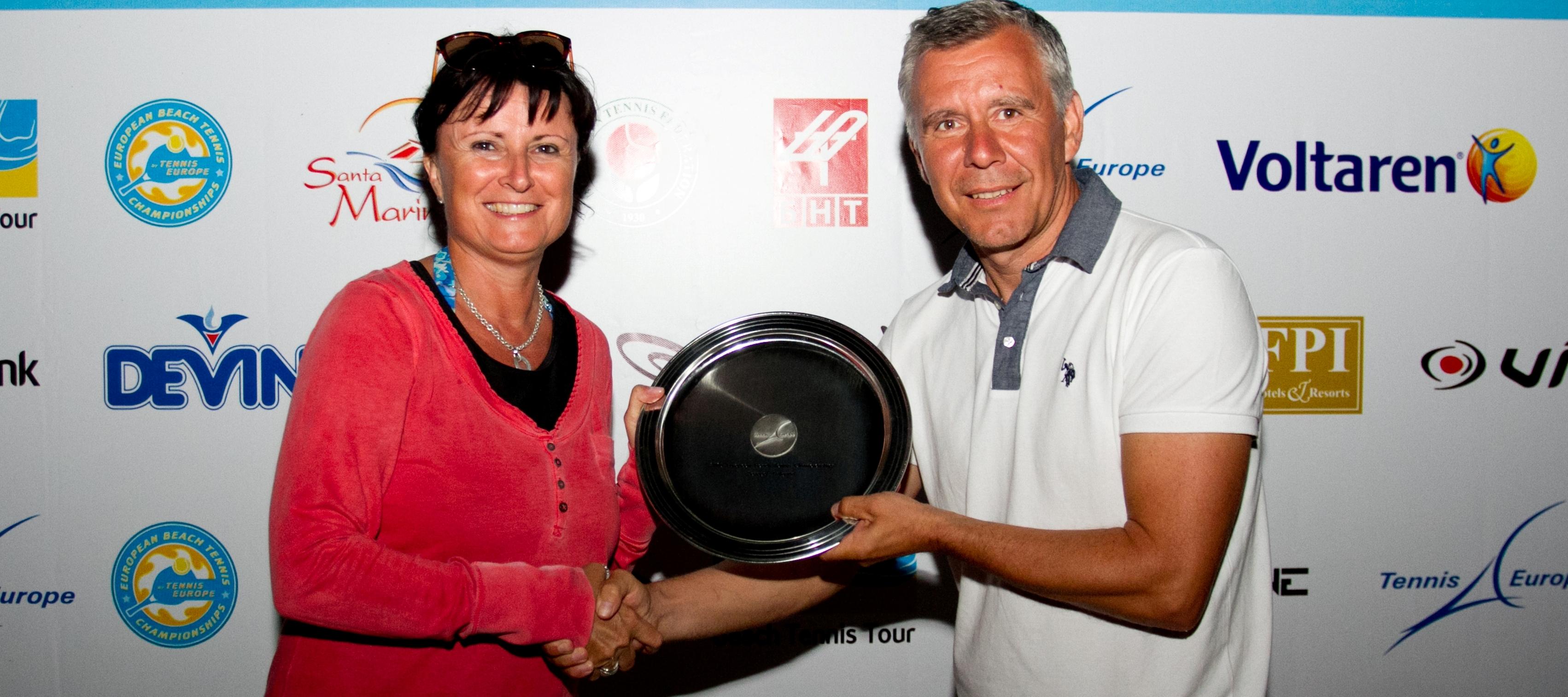 България с международна награда за организатор на европейското първенство по плажен тенис