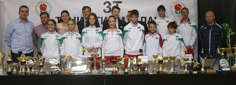 """Четири отбора ще включва програмата """"3Т – Тенис Тийм Талант"""" през 2017 г."""