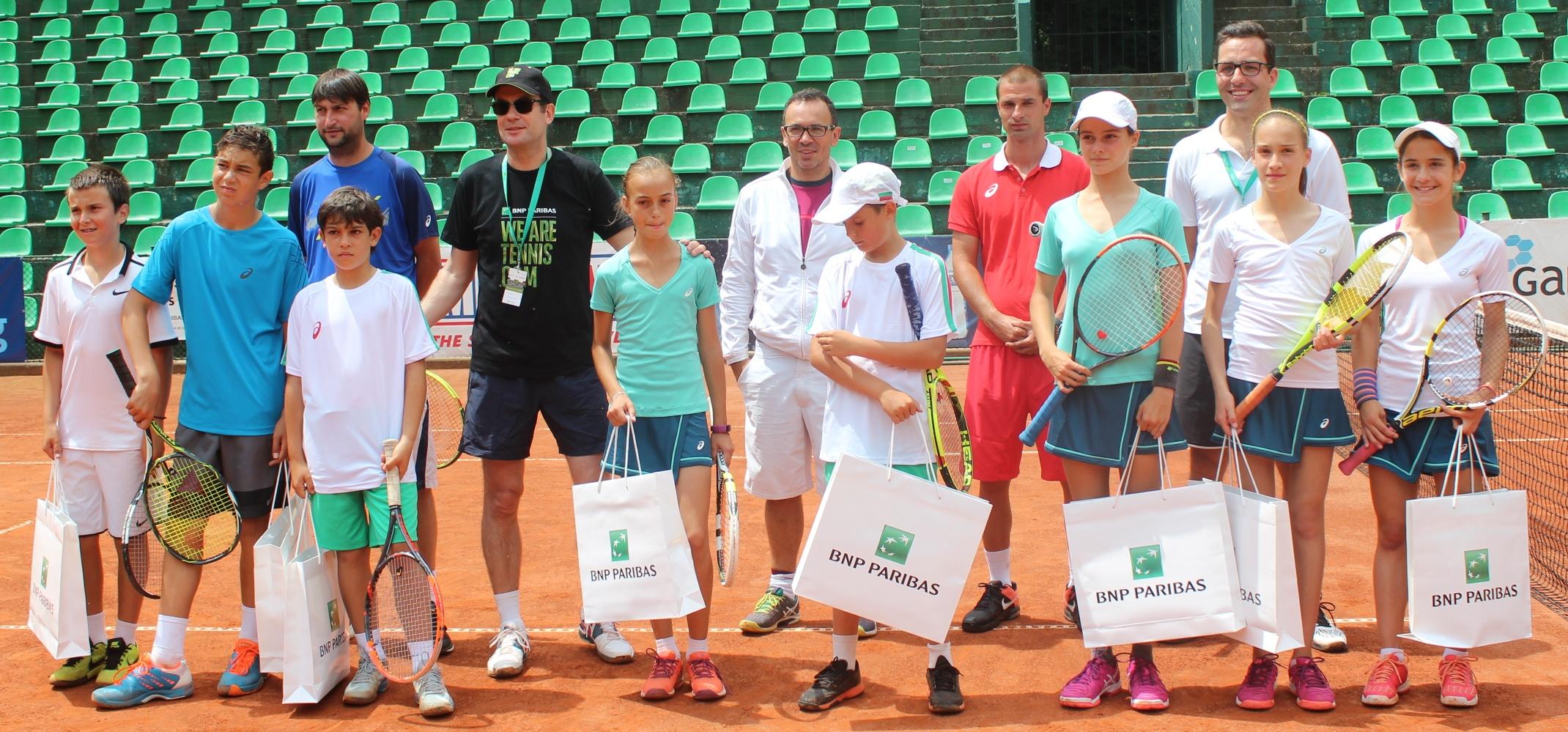 Ясни са датите на квалификационните турнири за проекта 3Т - Тенис Тийм Талант