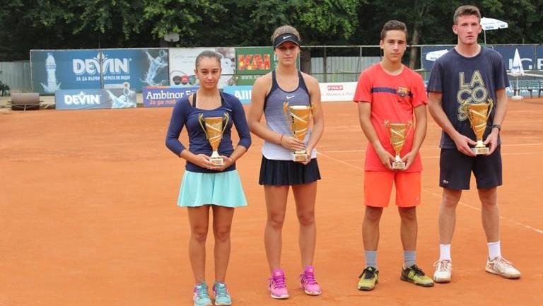 """Шампионите на държавното лично първенство до 16 г. """"DEVIN CUP"""" са..."""