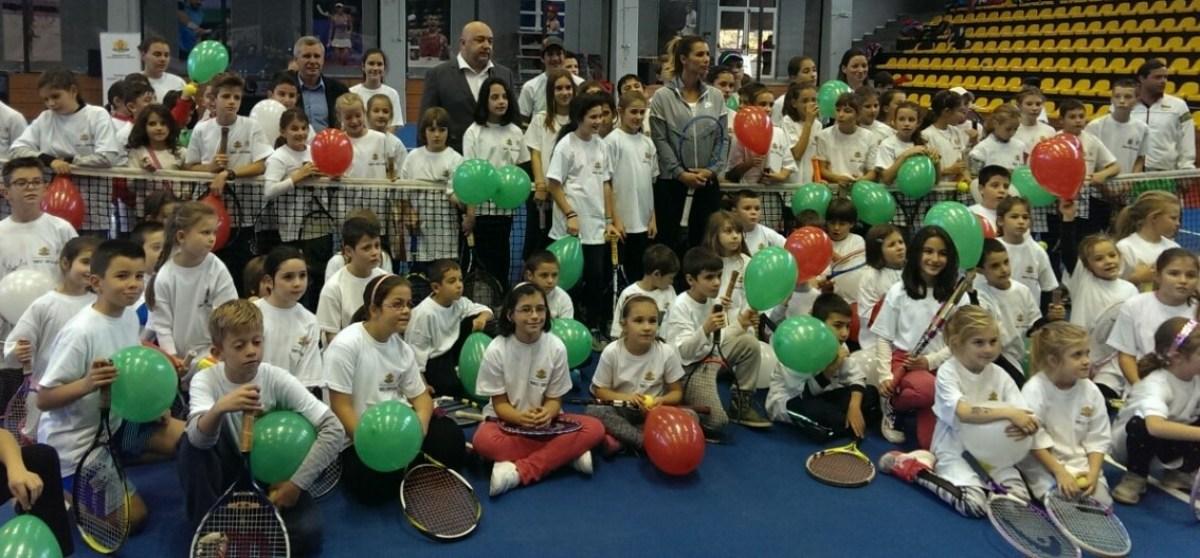 С празник бе закрито второто издание на програмата Тенисът - спорт за всички